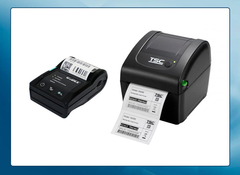 Drukarki etykiet - mobilne, biurowe, przemysłowe
